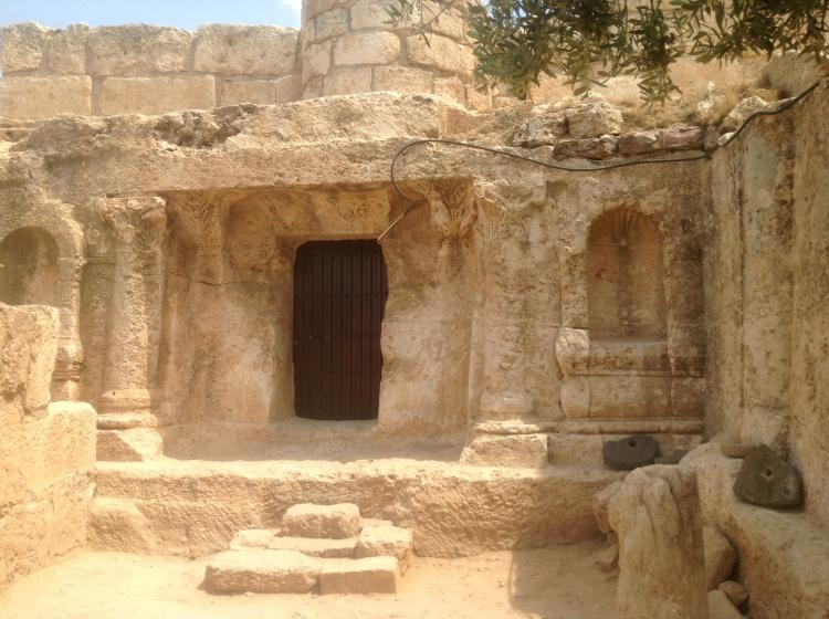 La caverna dei sette dormienti . Amman Giordania